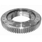 Installation instructions for turntable bearing
