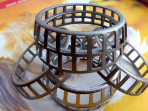 What is the function of bearing cage?